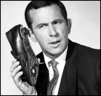 Maxwell Smart shoe phone